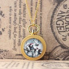 Watches Careful Fashion Elvis Presley Woman Pocket Watch Necklace Fob Watches Girl Lady Child Kid Antibrittle The Kind Of Rock N Roll Silver Red At Any Cost