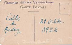Back of postcard Old Postcards, Math, Math Resources, Mathematics