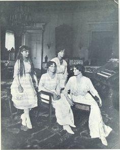 Anastasia, Olga, Tatiana and Maria Romanov