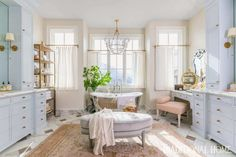 Step inside our Master - Rach Parcell Alice Lane Home, Cafe Curtains, Paint Colors For Home, Step Inside, Floor Design, Discount Furniture, Traditional House, Beautiful Homes, Family Room