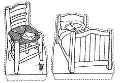 van Gogh bed en stoel