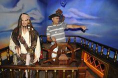 Jack Sparrow, agora sou eu quem está no comando!
