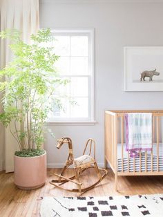 5 Tricks for Styling a Small Nursery | MyDomaine