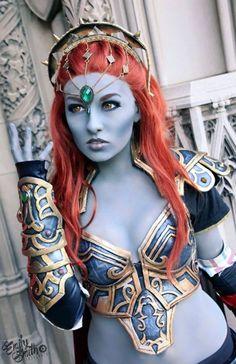 Lady #Ganondorf cosplay by Ely Renae.