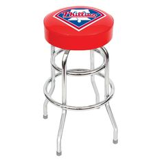The Philadelphia Phillies Bar Stool - MLB Man Cave Seats