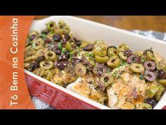 FRANGO EM MOLHO DE AZEITONAS - Receita de frango com azeitonas (Episódio #80) - YouTube
