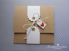 Card con tasca - La Coppia Creativa