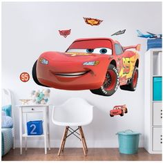 Disney Cars muurstickers - 120 cm