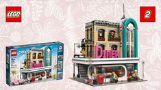 LEGO Creator  Downtown Diner 10260 #02  Let's Build Review Unboxing Deutsch sToNe2k6