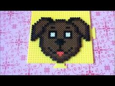 How To Make A Perler Bead Dog Paw! - YouTube