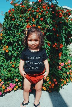 tomboy - girl - baby girl - toddler girl - black one piece - cute toddler - toddler girl - toddler clothes - toddler fashion - toddler life - mom life - baby clothes - clothes - baby shower - cute gifts - not all girls wear pink Toddler Girl Outfits, Toddler Fashion, Kids Outfits, Girl Toddler, Toddler Rompers, Toddler Toys, Baby Toys, Baby Girls, Cute Toddlers