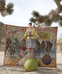anthropologie circus theme