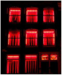 Amsterdam - red light district: