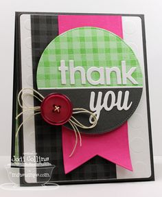 Featuring: Sending Thanks and Textile Backgrounds!