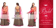 Gorgeous Lehengas that will make you look even more so - Bridal wear by Priya Chhabria #priyachhabria #bridalwear #weddingdress #lehenga #gorgeous #indianwedding #weddingsutra #designerwear #bespoke #weddingwear #bride #traditional #pink #colorful #moments #2016 #shadhi #marriage #weddingvows #wow #loveforfashion #bridefashion