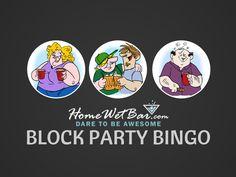 Block Party Bingo Outdoor Game