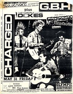 GBH and Dickies at Olympic Auditorium in LA
