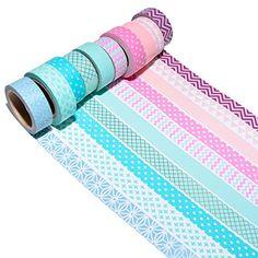 Washi Tape Storage, Washi Tape Set, Stationary Supplies, Stationary School, Tape Masking, Washi Tape Dispenser, Cool Pencil Cases, Pink Bathroom Decor, Duct Tape Flowers