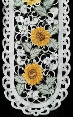 Find This Pin And More On Sunflower Table Cloth/ Runner By Bebedenise.