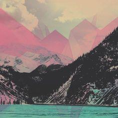 """Crystal Pass"" Art Print by Hallwood on Society6."