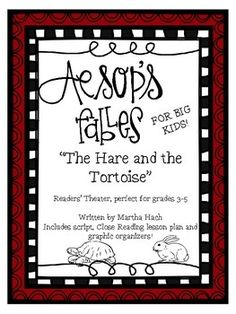 Aesop's Fables for Big Kids - The Hare and the Tortoise Freebie  FREE