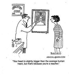 Making It As A Middle School Teacher: Teachers' Hearts Are Bigger Than Normal