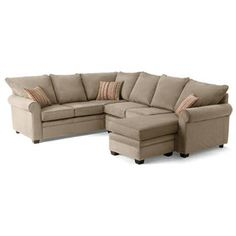Markham 3-Piece Sofa Sectional - Sears.  In grey instead of beige