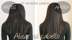 4 remedios caseros para ayudar a alisar el cabello