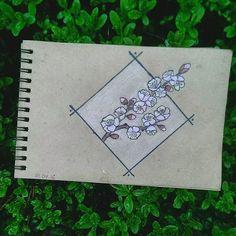 flowers #apricot #blossom #almaty #art #drawing #tattoo #tree