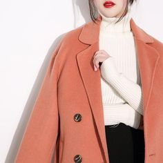 New Women Long Sleeve Double Breasted Winter Trench Coat – Posh Society