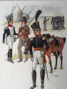 Military Divisions, Waterloo 1815, Uniform Design, Napoleonic Wars, Les Oeuvres, Warriors, Netherlands, Empire, Superhero