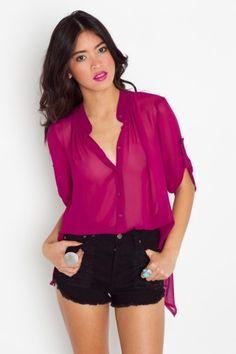 This sheer blouse is so versatile! Work, concert, drinks -- just love it!