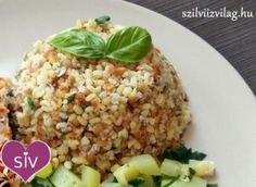 Tarka bulgur köret Superfood, Fried Rice, Quinoa, Side Dishes, Grains, Food And Drink, Healthy Recipes, Cooking, Ethnic Recipes