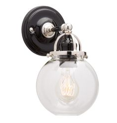 also available as a triple over mirror style.  Mist Single Sconce