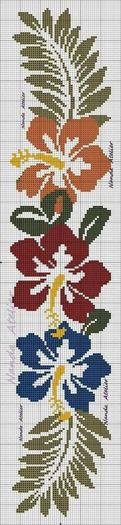 Embroidery patterns borders punto croce new Ideas Cat Cross Stitches, Cross Stitch Borders, Modern Cross Stitch, Cross Stitch Flowers, Cross Stitch Designs, Cross Stitching, Cross Stitch Embroidery, Cross Stitch Patterns, Embroidery Works