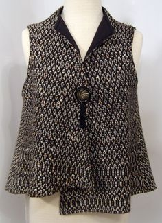 Kathleen Weir-West, Handwoven Vest, Business Clothing 2.JPG
