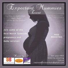 Ideal for Expectant Mummies. If you are due in 2016 or early 2017 this event is ideal to meet North Tyneside practioners specialising in pregnancy newborn and baby services