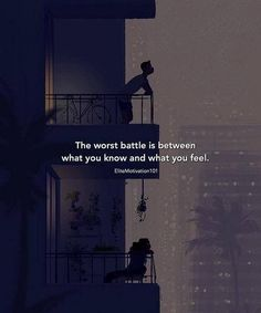 "Quote Beauties™ on is part of Thoughts quotes - The worst battle "" Quotes Deep Feelings, Hurt Quotes, Attitude Quotes, Mood Quotes, Wisdom Quotes, Positive Quotes, Life Quotes, Why Me Quotes, Liking Someone Quotes"