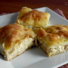 Chicken Pie with Trahana ⋆ Cook Eat Up! Cookie Dough Pie, Georgian Food, Kai, Pastry Art, Greek Recipes, Pie Dish, Hot Dog Buns, Food And Drink, Tasty