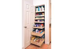 Wow! Roll out pantry!