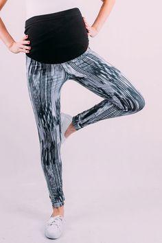 Černé těhotenské legíny s pásem na břiše Striped Pants, Harem Pants, Fashion, Moda, Stripped Pants, Harem Trousers, Fashion Styles, Striped Shorts, Harlem Pants