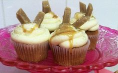 Banoffee Iced Fancies in by Lotte Duncan | Cakes Professional recipe | Foodnetwork.co.uk