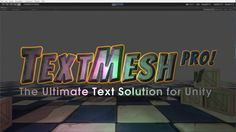 TextMesh Pro - Product Highlight