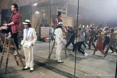 "MICHAEL JACKSON ""Smooth criminal"" rehearsal"