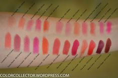 I think my favorite drugstore lipstick has to be the Super Lustrous line from Revlon. There is a huge range of shades and finishes. It is sturdy enough to hand… Revlon Lipstick Swatches, Mauve Lipstick, Drugstore Lipstick, Revlon Super Lustrous Lipstick, Lipstick Art, Makeup Swatches, Lipstick Colors, Lip Colors, Lipsticks