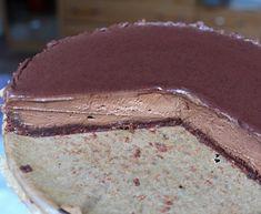 Pečený čokoládový cheesecake s nutelou a polevou ganache Cheesecake, Pie, Yummy Yummy, Food, Torte, Cake, Cheesecakes, Fruit Cakes, Essen