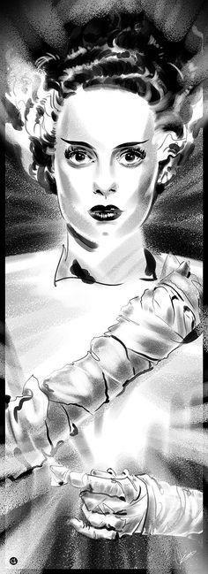 Bride of Frankenstein by Christopher King