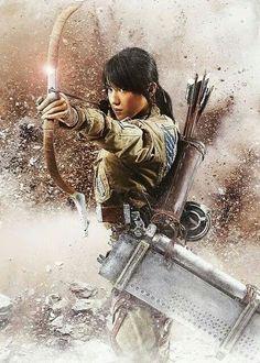 Poster de Live Action de #ShingekiNoKyojin
