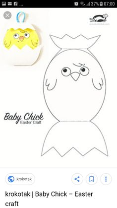 Farm Crafts, Easter Crafts, Easter Activities, Baby Chicks, Easter Ideas, Farm Animals, Pikachu, Printables, Craft Ideas