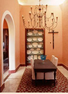 Dining Room From Hacienda Color Mexican HaciendaHacienda StyleMexican